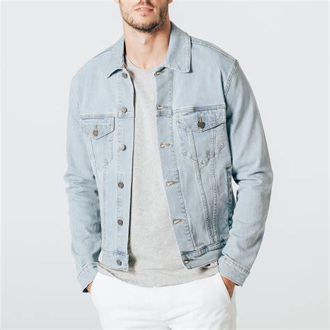 light wash denim jacket mens mens denim jacket in light wash 95 dstld
