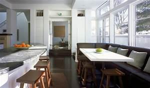Sofa In Der Küche : wohnzimmer und k che in einem raum kombiniert klug und praktisch ~ Bigdaddyawards.com Haus und Dekorationen