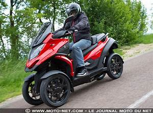 Permis Scooter 500 : tous les tests essai scooter 4 roues quadro4 la quadroture du cercle ~ Medecine-chirurgie-esthetiques.com Avis de Voitures