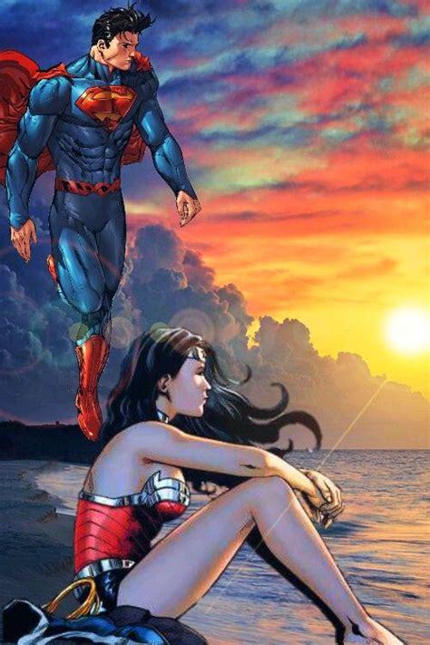 superman und wunder frau porno kunst