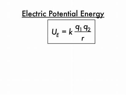 Potential Energy Electric Presentation