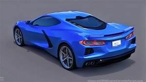C8 Corvette Designer New Mid Engine C8 Corvette Rendering Looks Stellar Video