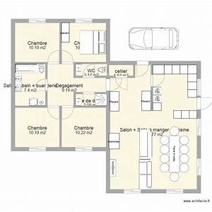 amazing dessin plan de maison 1 maison 130m2 plan plain With plan maison 170 m2 plain pied