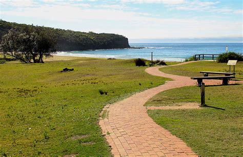 pebbly beach cground murramarang national park nsw