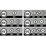 Creative Commons Pixabay Icons Licenses Vector
