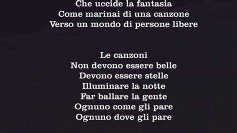 Jovanotti Canzoni Testi by Jovanotti Le Canzoni Testo
