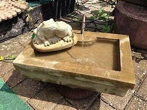 Arten Von Sandstein : brunnen eckig frosch u kupfer schlangen kopf sandstein antik look j 18 grau eur 169 00 ~ Watch28wear.com Haus und Dekorationen