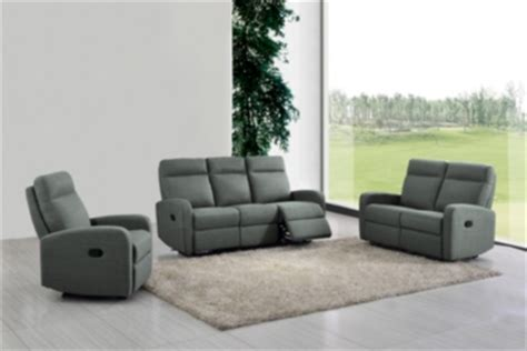 canap 233 relax deux places oscar tissu gris anthracite canap 233 s but
