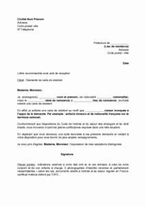 Renouvellement Permis E Périmé : lettre de demande de la carte de r sident par un tranger mod le de lettre gratuit exemple de ~ Medecine-chirurgie-esthetiques.com Avis de Voitures