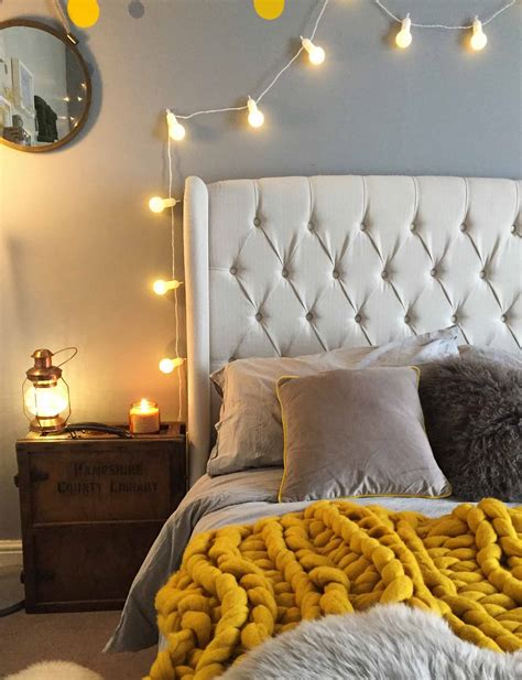 Bedroom Fairy Light Ideas  Inspiration Lights4funuk