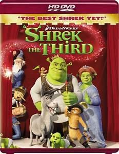 Shrek the Third (2007) DVD, HD DVD, Fullscreen, Widescreen ...