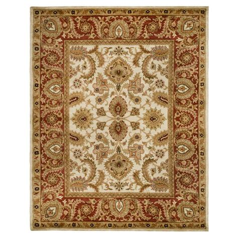 5 8 Area Rugs by Safavieh Classic Ivory 5 Ft X 8 Ft Area Rug Cl244d 5