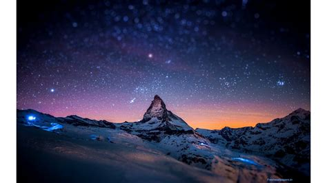 beautiful night   mountains wallpapers