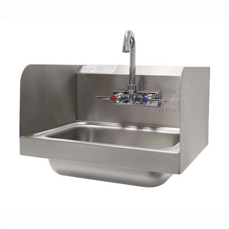 advance tabco wall mounted sink advance tabco 7 ps 66 wall mount commercial sink w