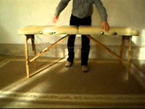 table massage pliante carrefour