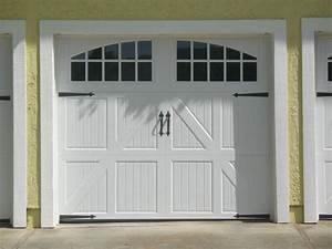 Garage door design white steel carriage house garage door for Carriage style garage doors for sale
