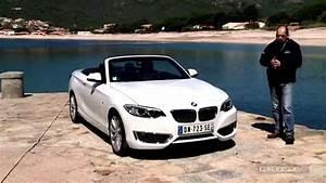 Bmw Serie 1 Cabriolet : essai vid o bmw s rie 2 cabriolet youtube ~ Gottalentnigeria.com Avis de Voitures
