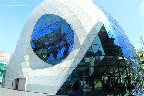 Modern Dutch city Eindhoven The Netherlands Journey