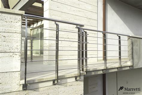 ringhiera per esterni exterior metal banisters in stainless steel by marretti