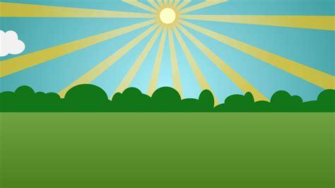 Animated Sunny Day Cartoon