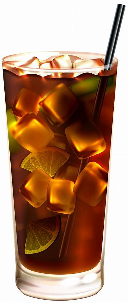 Cola Ice Clip Clipart Drinks Clipartpng Link