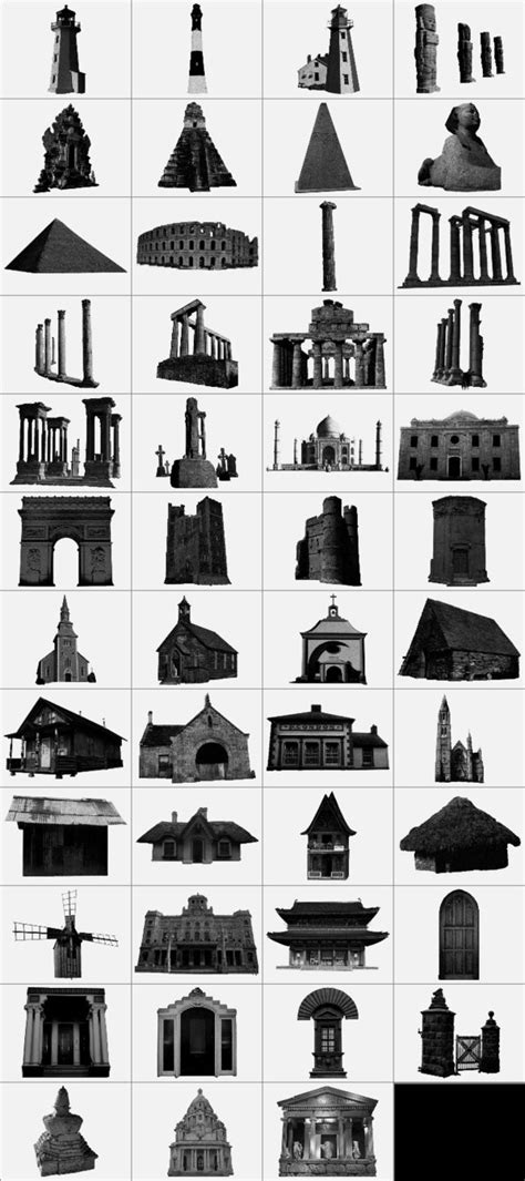 Architecture Brushes By Linkolnass On Deviantart