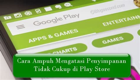 Maybe you would like to learn more about one of these? Cara Ampuh Mengatasi Penyimpanan Tidak Cukup di Play Store