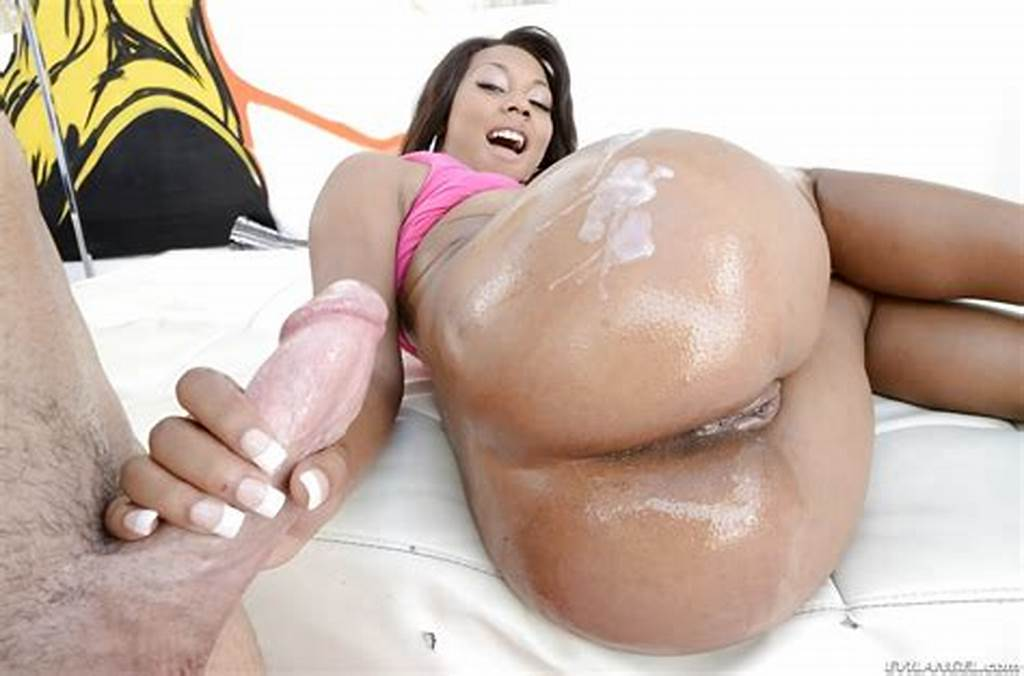 #Sexy #Ebony #Babe #Leilani #Leeane #Gets #Her #Asshole #Drilled #By