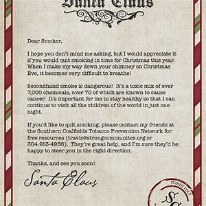 Goodly letter from santa claus letter format writing for Generic letter from santa