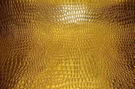 Buy Leather Upholstery Fabric by Vinyl Upholstery Faux Leather Crocodile Faux Vinyl Gold