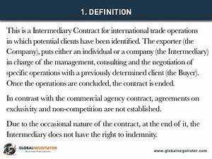 intermediary contract for international trade contract With international trade contract template