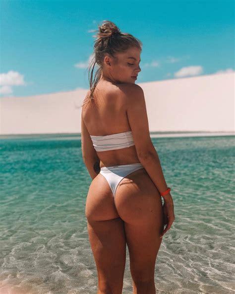 Luisa Sonza Mostra Bumbum Em Clique Sexy Na Praia Revista Marie Claire Celebridades