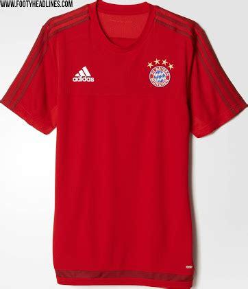 FC Bayern München 15-16 Training Shirts Revealed - Footy ...