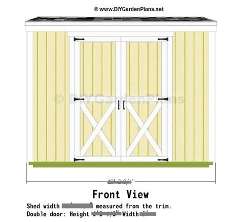 Overview: Saltbox Shed Plans   Page 2