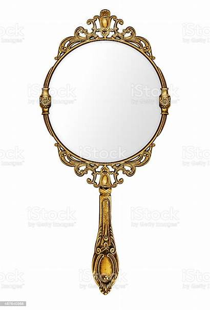 Mirror Hand Template Magic Isolated Antique Royalty