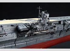 New Fujimi Model 1350 Japanese Navy Aircraft Carrier Kaga