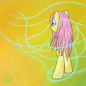 A lightshow for pseudo anthro Fluttershy by Greeny-Nyte on ...