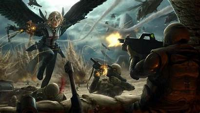 Epic Fantasy Wallpapers Dark War Wide Widescreen