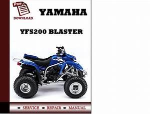 Yamaha Yfs200 Blaster Workshop Service Repair Manual Pdf Download