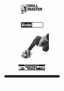 Harbor Freight Tools Angle Drill Guide Product Manual