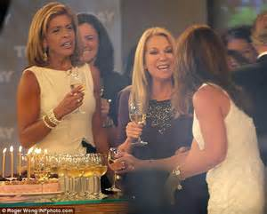 Kathie Lee and Hoda Drinking