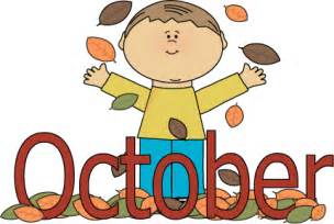 October Month Clip Art Free