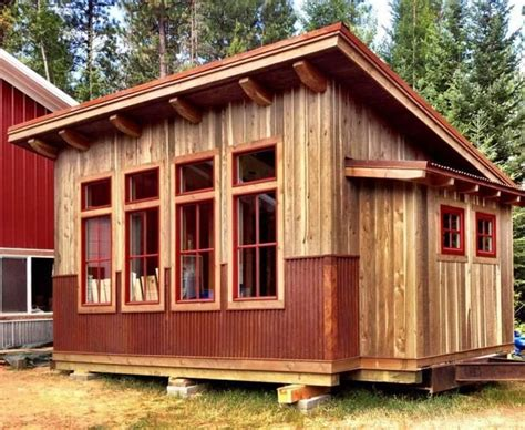tuff shed cabin shed homes homesteading today cute cottages  tiny houses pinterest