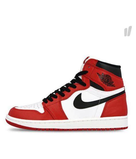 Nike Jordan 1 Retro High Chicago Red Basketball Shoes