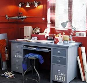 Bureau Maison Du Monde : bureau chambre enfant mod le cargo maison du monde ~ Teatrodelosmanantiales.com Idées de Décoration