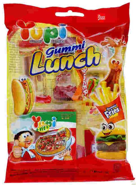 Yupi Gummy Candies Sour yupi gummy candies gummi lunch 77g my asian grocer