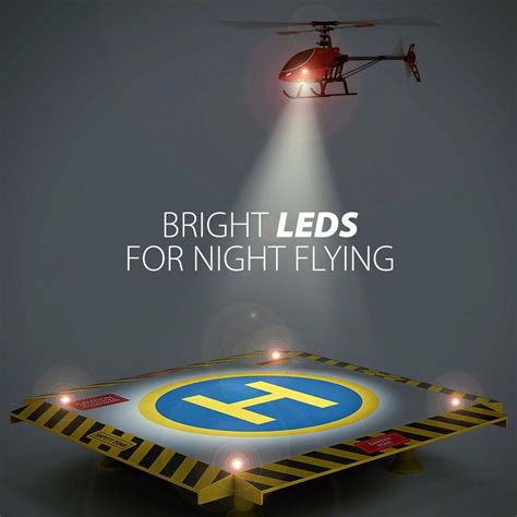 remote control helicopter landing pad  lights rc helicopters quadcopters drones ebay