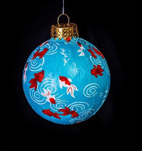koi japanese washi paper ornament eb ornaments