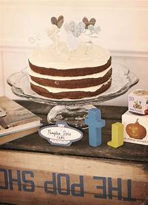 CAKE Creative Co.: Chocolate + Blues Vintage First Birthday