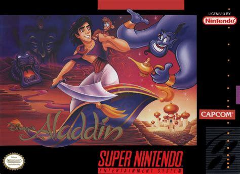 Disneys Aladdin Snes Super Nintendo